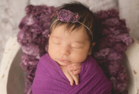 Chantell's Baby Newborn Photoshot