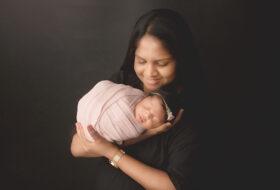 Baby Linara 10 days old newborn photography session